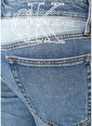 Ck Jeans CK Jeans  Logo İşlemeli Dar Paça Jean Pantolon 101519780 Mavi